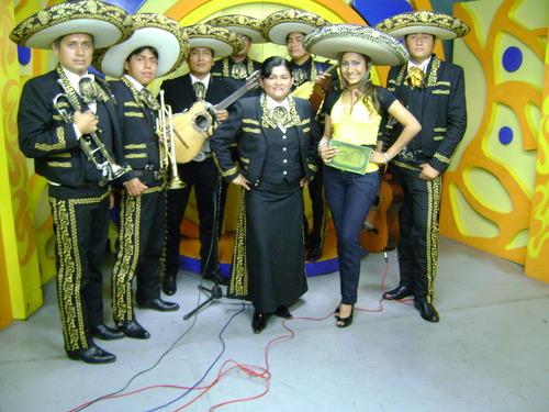 Mariachis Pisco y Tequila - Actuación en Canal 21 Trujillo