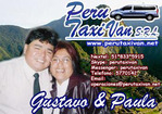 PERU TAXI VAN Gustavo and Paula Transfers