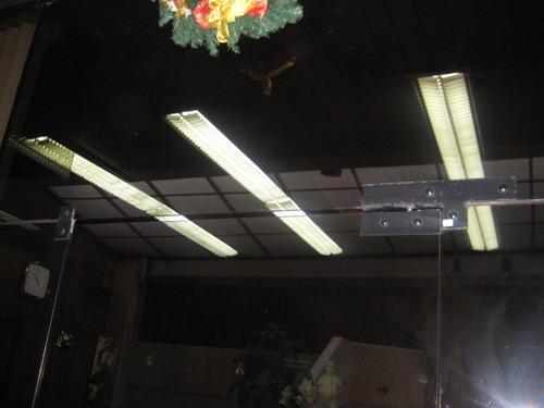Cambio de Luminarias en la ACADEMIA DE LA MAGISTRATURA