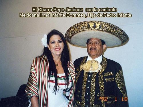 El Charro Jiménez - Irma Infante Dorantes (La Hija de Pedro Infante)