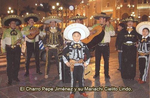 El Charrito Josué Jiménez con el Mariachi Cielito Lindo Perú