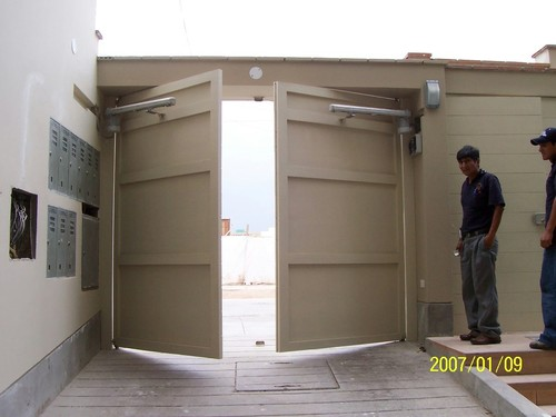 Swing-door