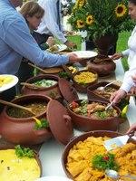 Buffet criollo Purito Perú