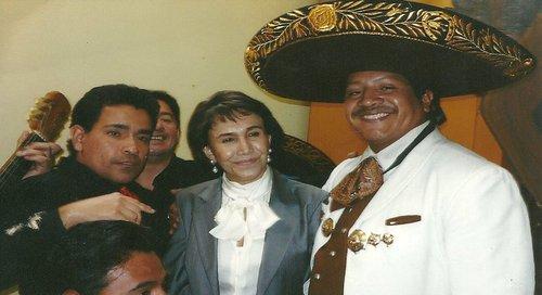 charro fernandez with Florinda Meza