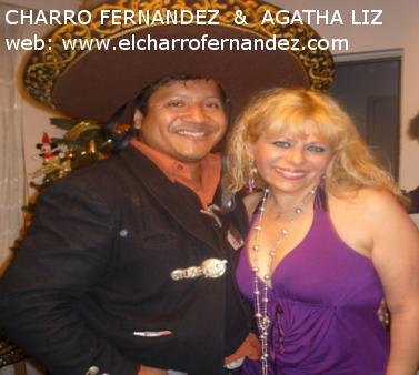the charro fernandez with agatha liz