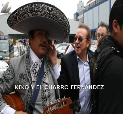 the charro fernandez with Carlos Villagran
