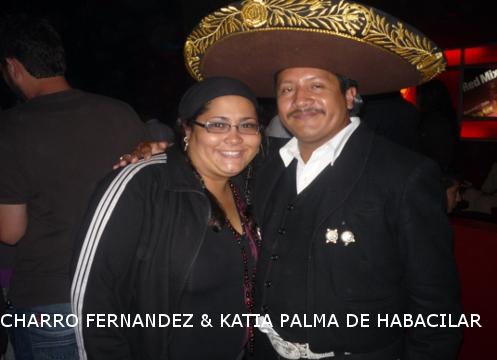 the charro fernandez with palm katia HABACILAR