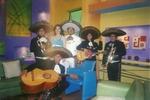 el charro fernandez y mariachi el rey junto a laura borlini