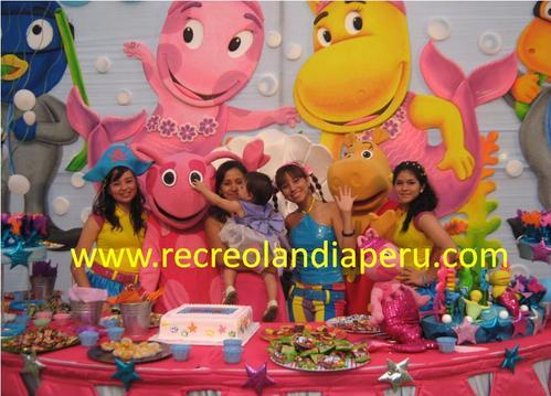Children's Show mit Recreolandia Backyardigans