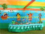 Decoracion de los backyardigans Piratas
