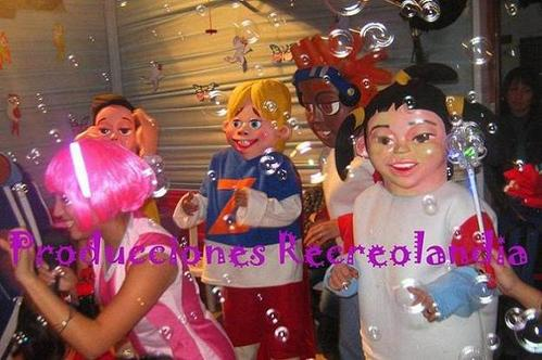 Shows com os amigos de Lazy Town