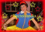 Crianças com Disney Princesas Shon