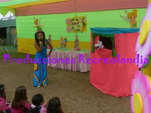 show educativo com fantoches