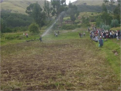 MODULOS DE RIEGO POR ASPERSION PARA AGRICULTURA