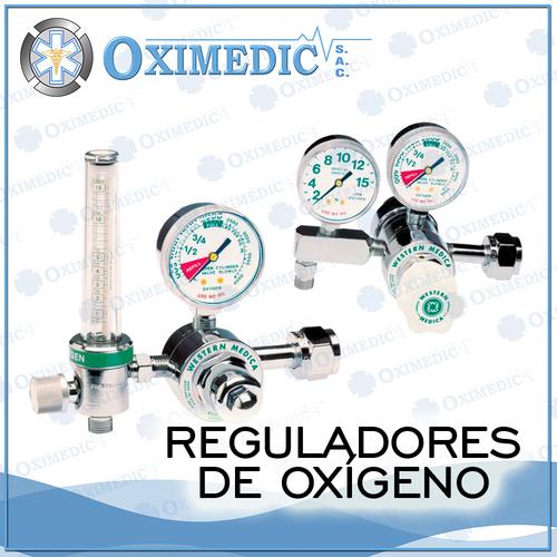 Reguladores de oxigeno medicinal