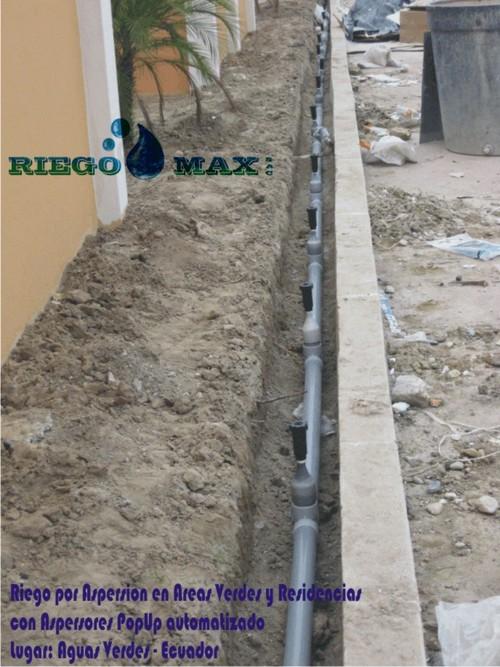 Sistema de riego para residencias y Areas Verdes