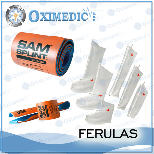 Pneumatic splint and film