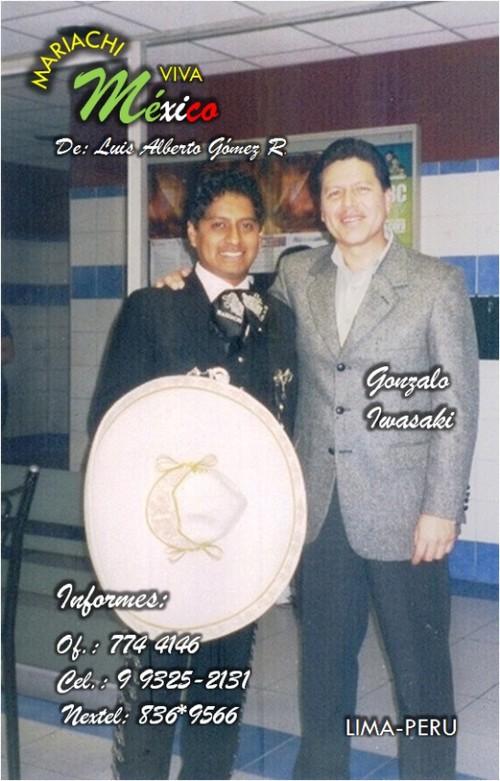 Mariachi Peruano en Televisión y Radio