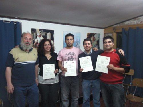 Levering van certificaten van een cursus gedoceerd in Radiografie Niveau 2