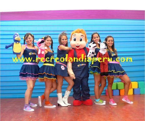 Children's Shows Recreolandia - Estaff Company
