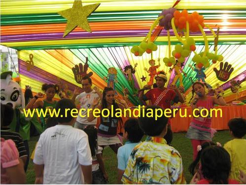 Children's Show mit Recreolandia HI5