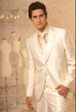 Shirts, vests, ties, cufflinks, suits for grooms