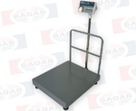 500kg FLOOR SCALE (70 X 80 cm) printer met OUT A