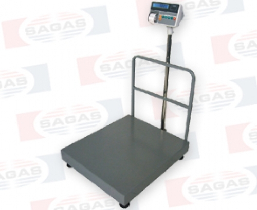 500KG FLOOR SCALE (70 X 80 cm) PRINTER WITH OUT A