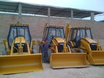 (3) ESCAVAR CATERPILLAR 416C
