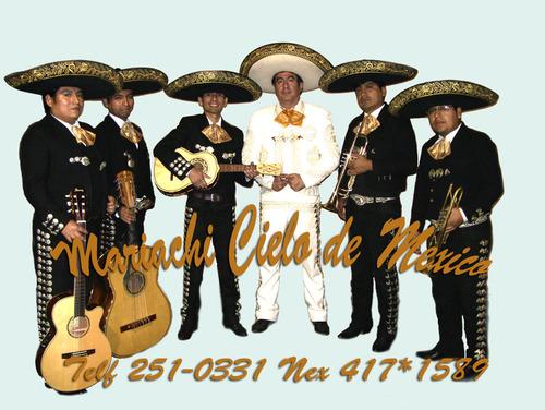 Mariachis en Lima Cielo de Mexico