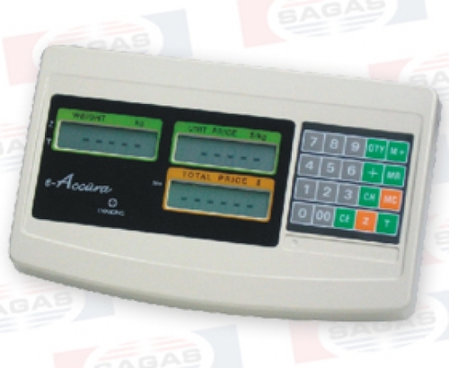 SB-51 eACCURA INDICATOR WEIGHT / PRICE