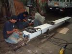 Fabricacion y montaje de transportadores helicoidales