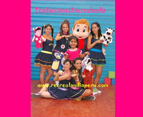 Children's parties, your best option Recreolandia