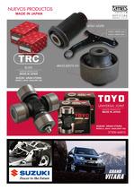 Crucetas  marca Toyo