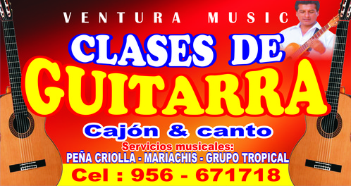 CLASES DE GUITARRA EN ICA