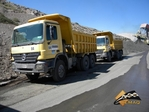 Mercedes Benz Tipper 350HP Semi Roqueros