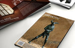 Graphic design, magazine of Artmotiv art