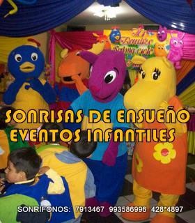 Show Infantil de los backyardigans