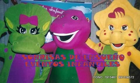 Show Infantil con barney y sus amigos