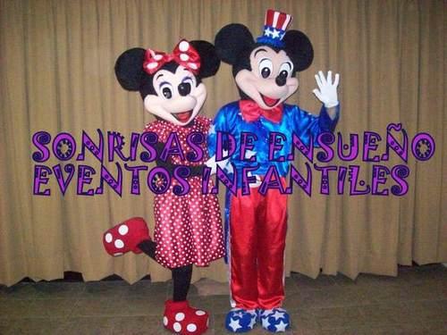 Show de Play house Disney con Minie y Mickie