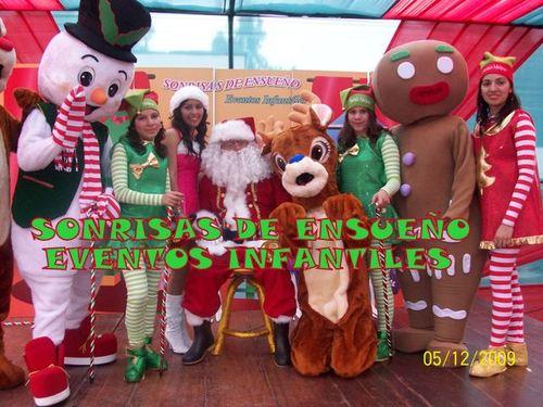 Show navideño Un maravilloso Espectaculo Buscando a santa Claus
