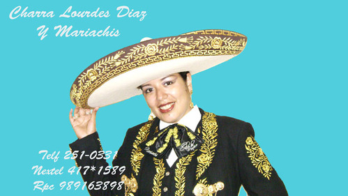 Charra Lourdes Diaz y Mariachis en Lima Mariachi Cielo de Mexico