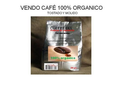 VENDO COFFEE DIX 100% ORGANICO TOSTADO Y MOLIDO